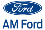 Ford Logo, AM Ford. Click to navigate to homepage