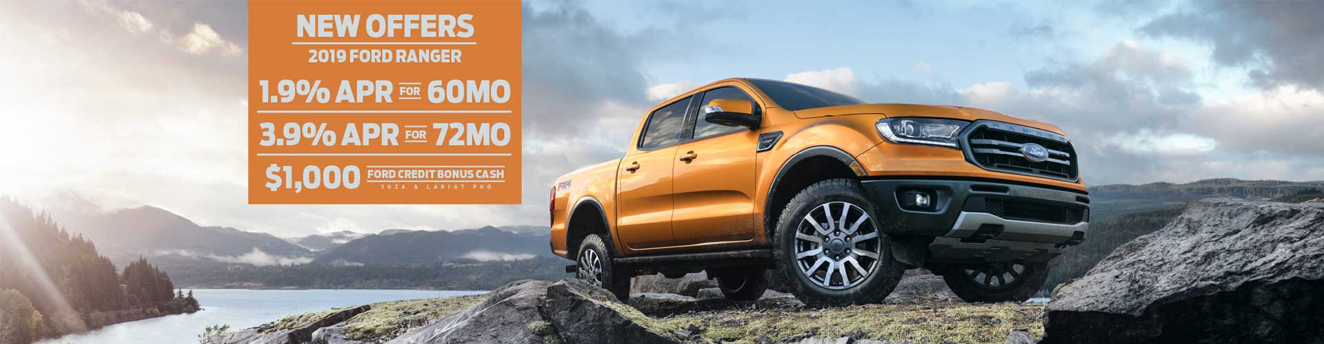 New Offers - Ford Ranger