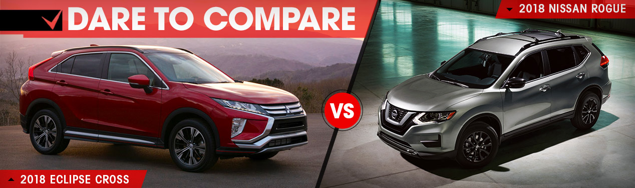 2018 Mitsubishi Eclipse Cross vs. 2018 Nissan Rogue Sport | Beckley, WV