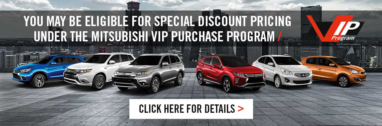 Mitsubishi VIP Program - 1268x420