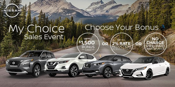 My Choice Sales Event | Nissan Downtown