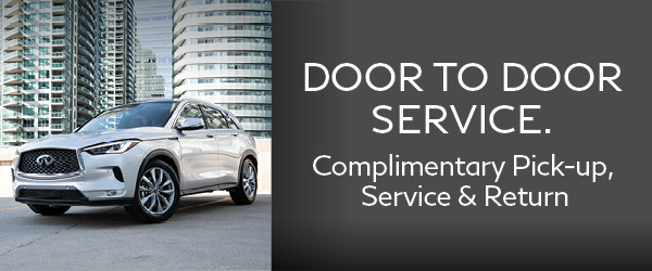 Complimentary pick-up, service & return