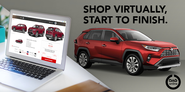 Shop Virtually, Start to finish. Click banner image to navigate to shop online page