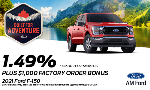 Save On The 2021 F-150 | AM Ford | Trail, BC