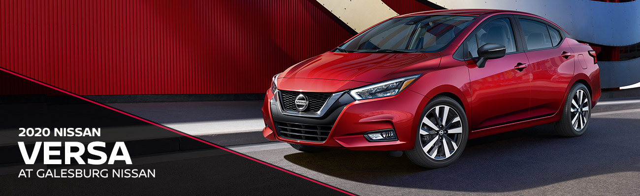 2020 Nissan Versa At Galesburg Nissan In Galesburg, IL