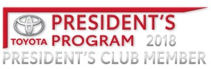 2018 Presidents Club Member