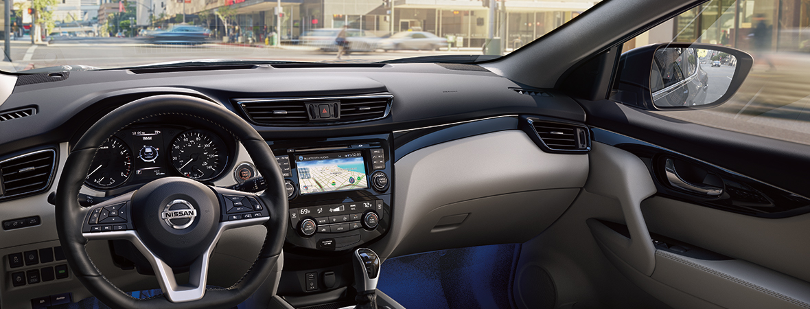2019 Nissan Rogue Technology Spotlight Background