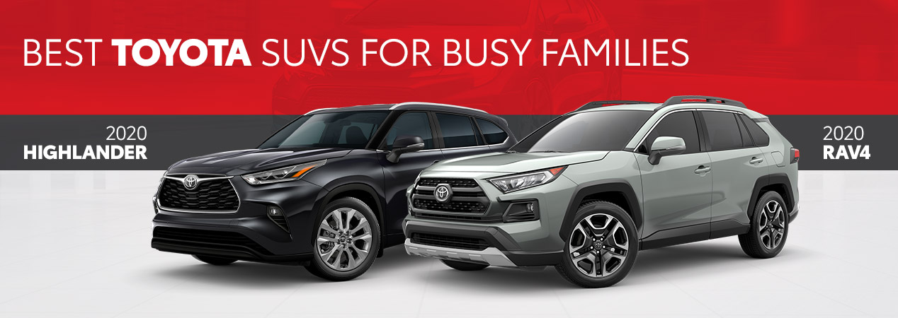 Best Toyota SUVs For Busy Families | Calgary, AB