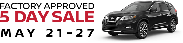 Nissan-5DaySale logo-with-dates-and-2019-Rogue