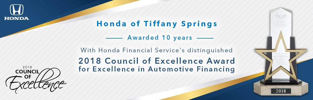 HondaTiffanySprings-ExcellenceAward-1090x350