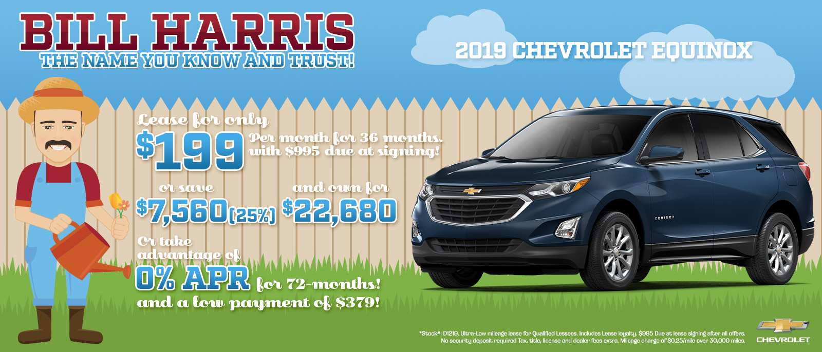 2019 Chevy Equinox Savings