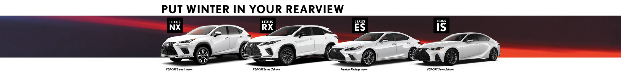 Lexus Downtown - March Specials