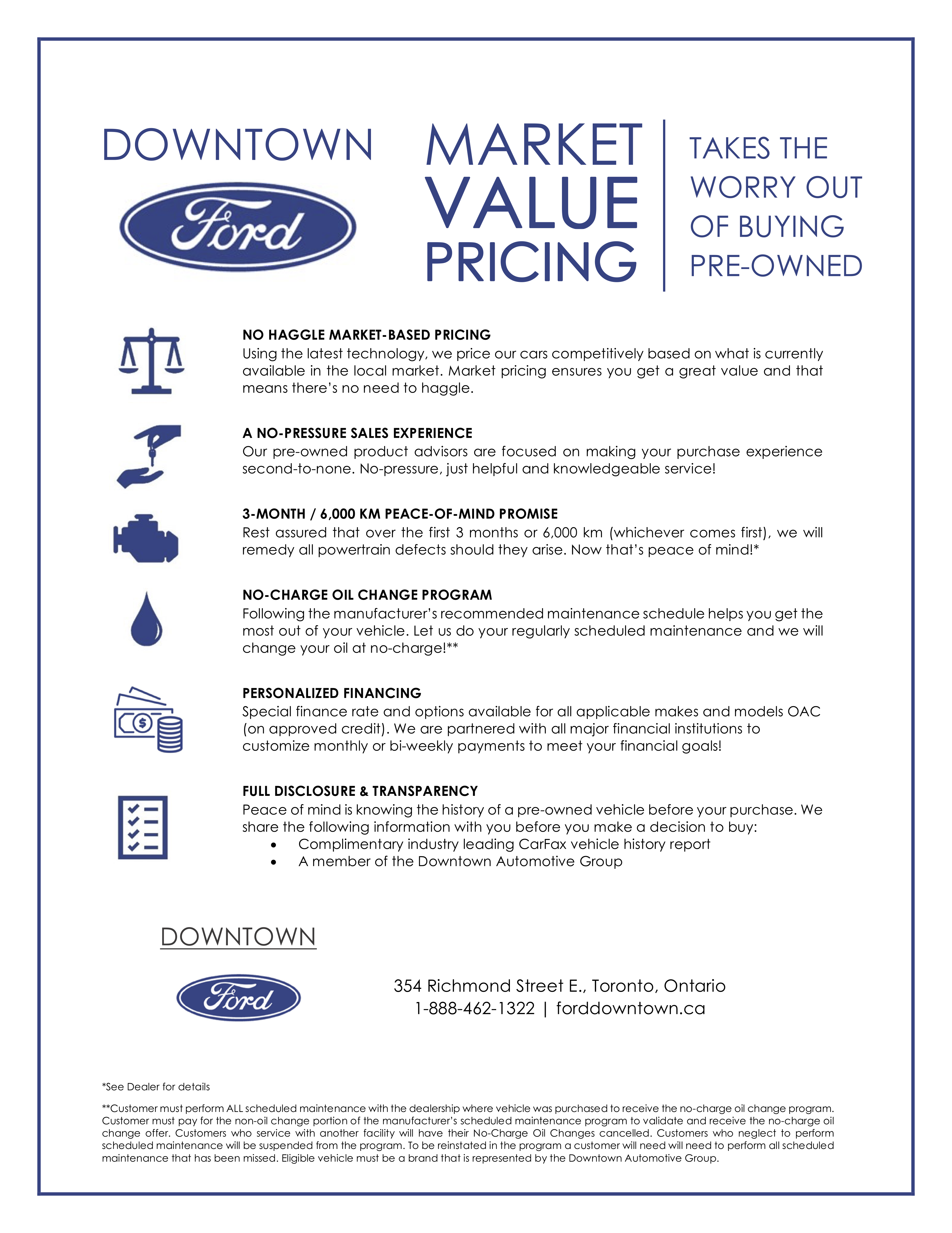 Ford Market Value Pricing