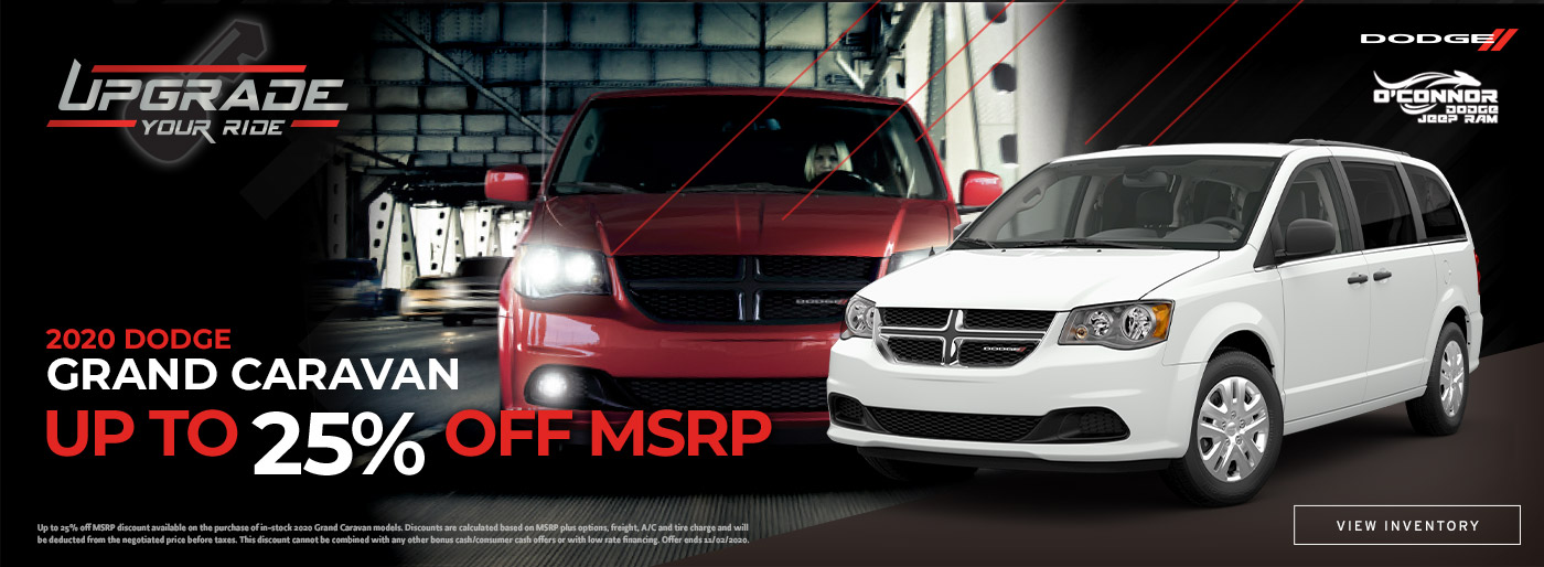 Up To 25% Off 2020 Dodge Grand Caravan in Chilliwack, BC
