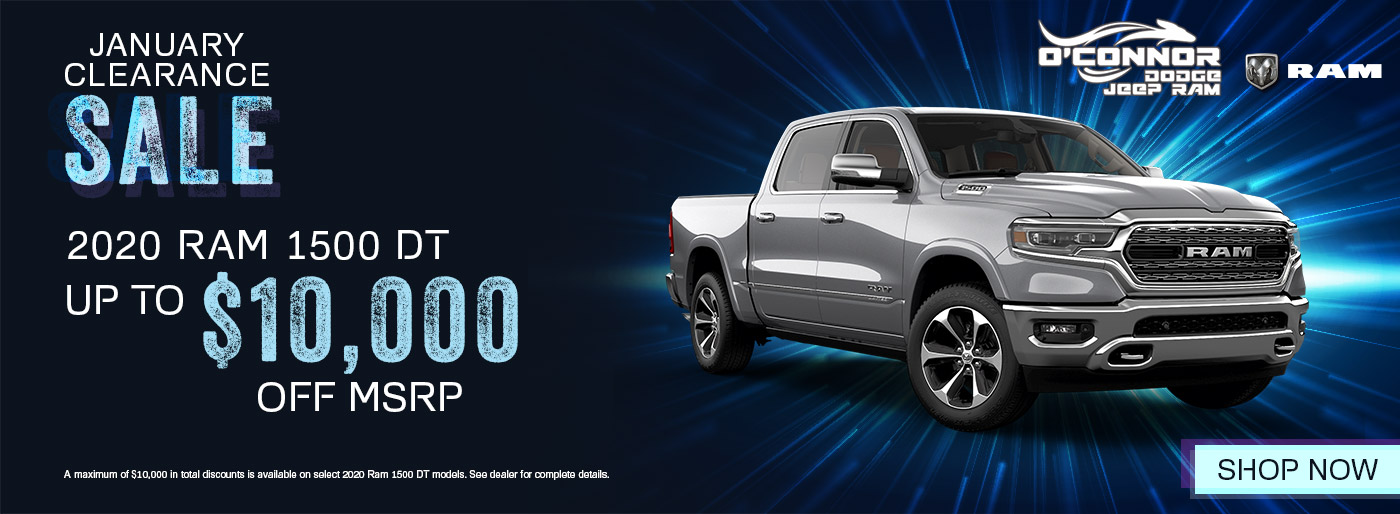 2020 Ram 1500 January Clearance View Inventory | Chilliwack, BC