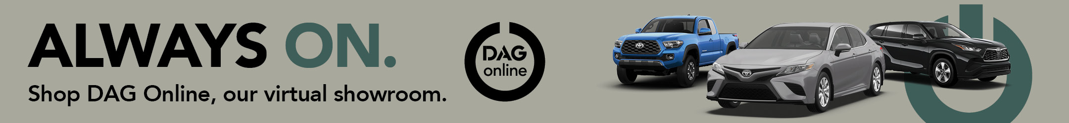 Shop DAG Online Virtual Showroom