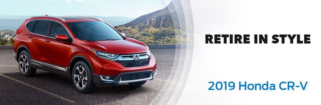 Retire in Style with the 2019 Honda CR-V | Love Honda