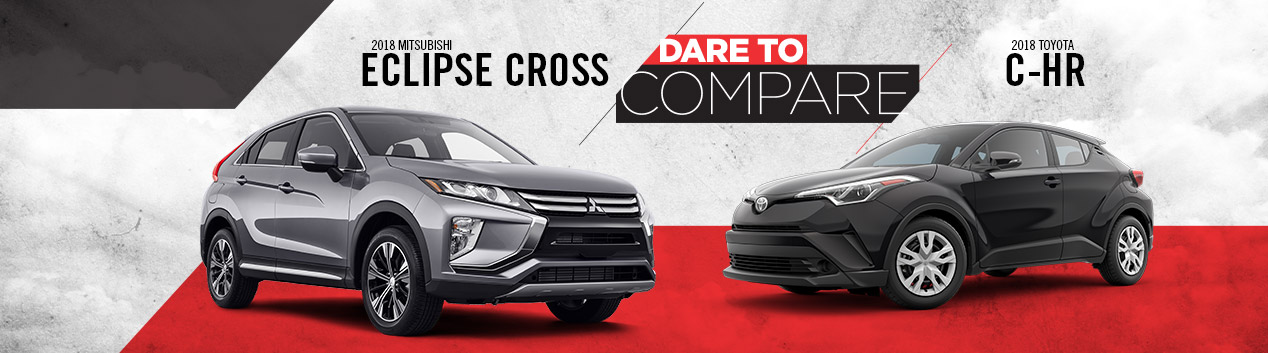 2019 Mitsubishi Eclipse Cross vs. Toyota C-HR | Hollywood MD