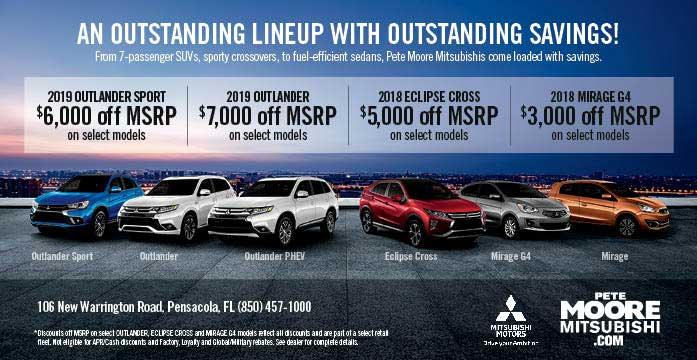 Print Ad Specials Coupons Mitsubishi Lancer Mirage Outlander I
