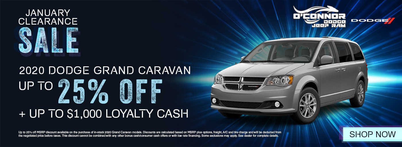 2020 Dodge Grand Caravan January Clearance Shop Inventory | Chilliwack, BC