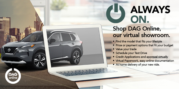 Shop DAG Online, with our virtual showroom
