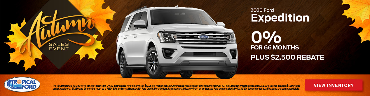 2020 Ford Expedition | Tropical Ford | Orlando, FL