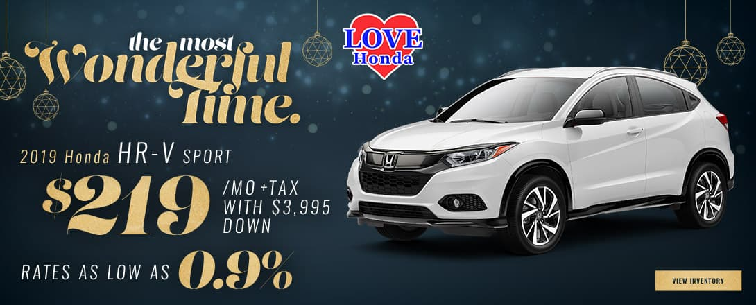 Love Honda - 2018 HRV Offer