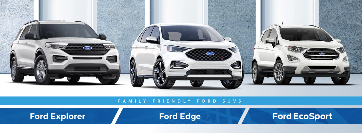 Ford Explorer, Edge, and EcoSport