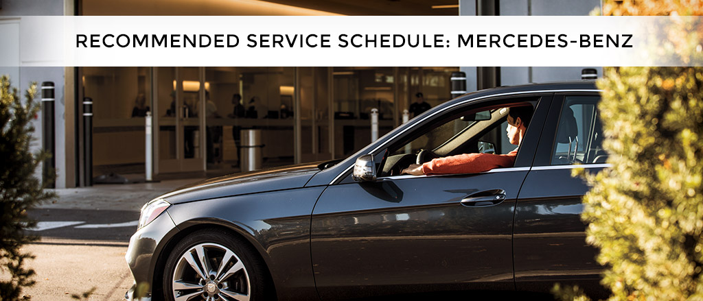 recommended service schedule mercedes benz coast to coast imports indianapolis in. Black Bedroom Furniture Sets. Home Design Ideas