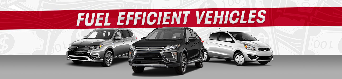 Fuel-Efficient Mitsubishi Cars and SUVs in St. Cloud, MN