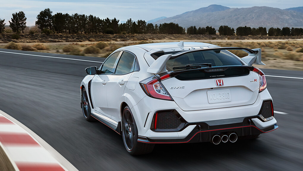 Civic Type R fastest front wheel drive production car on the road